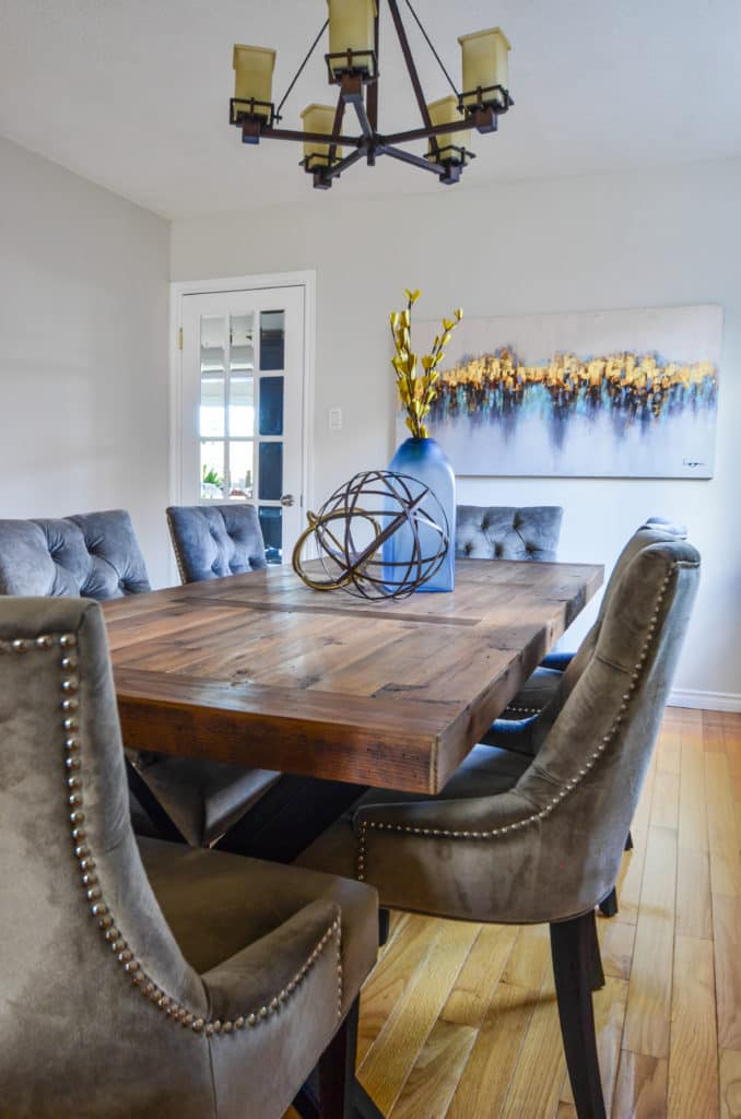 Staged Dining Room at Liverpool Rd - Pickering