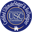 Ultimatestager™ Certification Seal For Website (4cm)